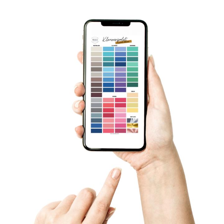 Digitale kleurenpaletten